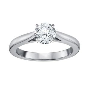 1/2 Carat Diamond David Tutera 14k Engagement Ring
